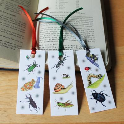 Minibeasts Bookmarks Set
