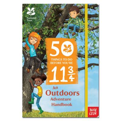 National Trust 50 Things to do before you are 11 3/4 Book