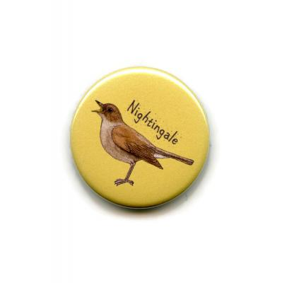 Nightingale Fridge Magnet