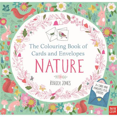 National Trust Colouring Book Cards and Envelopes Nature