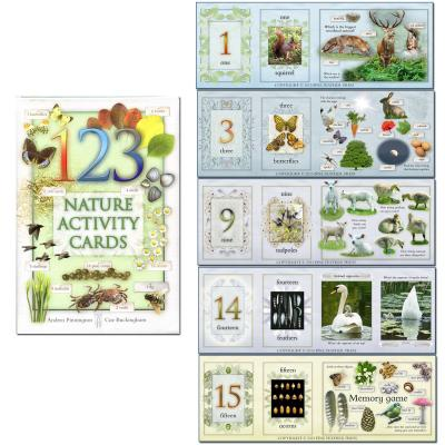 123 Number Nature Activity cards