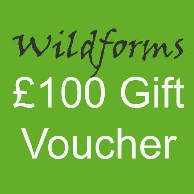 Wildforms One Hundred Pounds Gift Voucher