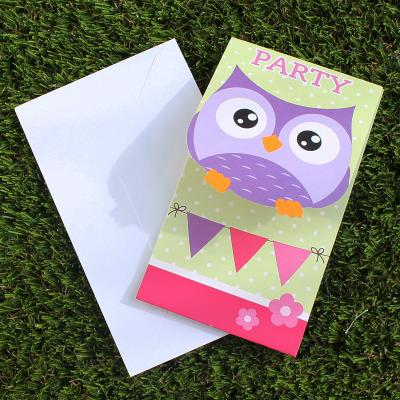 Owl Party Invitations