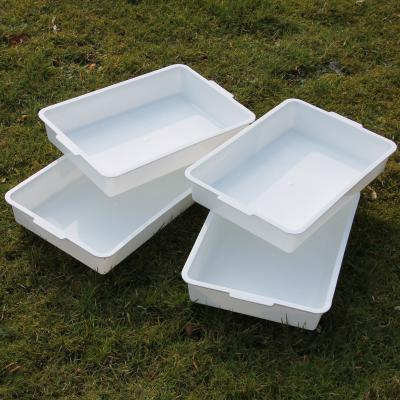 Pack of 4 White Pond Dipping Sample Trays