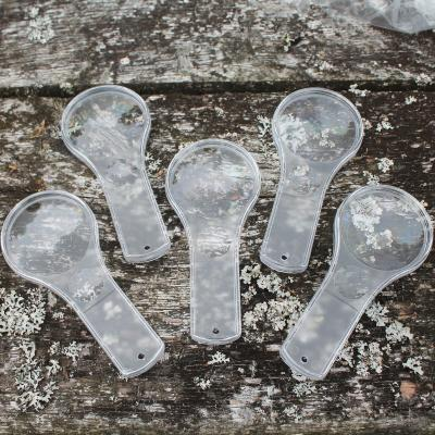 Pack of Five Double Lens Magnifying Glasses