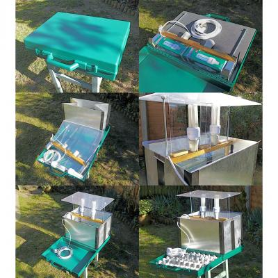 Portable Lucent Folding Moth Trap