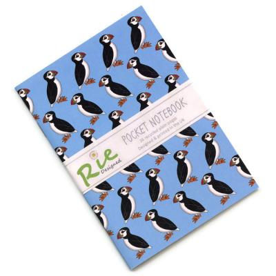 Puffin A6 Recycled Notebook