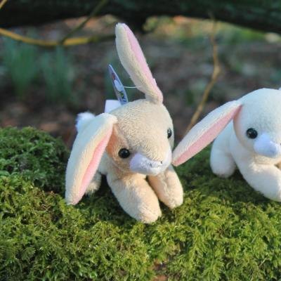 Bunny Rabbit Bean Buddy Mini Soft Toy