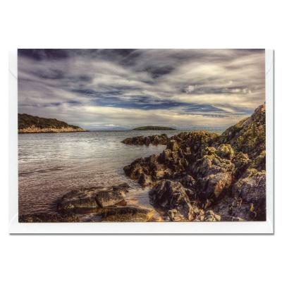 Red Haven Bay Blank A6 Photographic Greetings Card