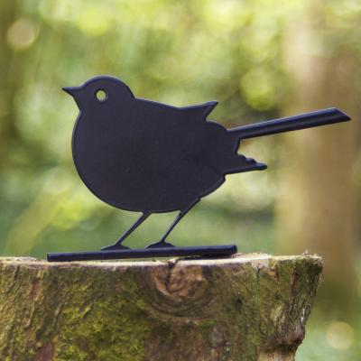 Robin Post Topper Garden Bird Ornament