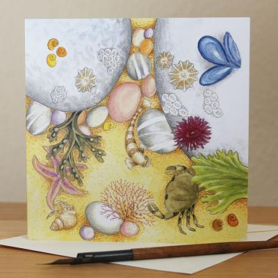 Rockpool Blank Greetings Card