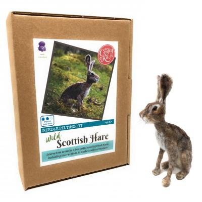 Scottish Hare Needlefelting Kit