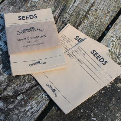 Pack of 20 Seed Collecting Envelopes Packets