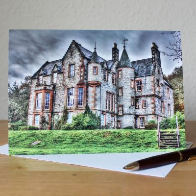 Shambellie House Dumfries and Galloway Photographic Greetings Card
