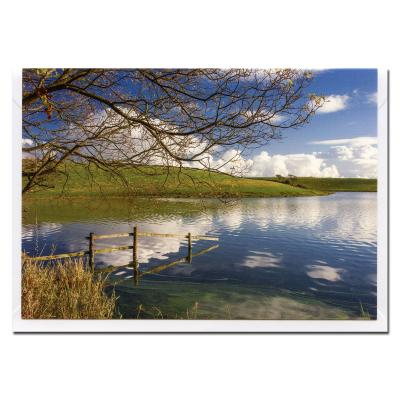 Soulseat Loch Blank Photographic Greetings Card A6