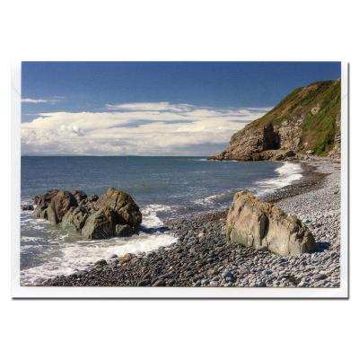 St Ninians Cave Blank Photographic Greetings Card A6