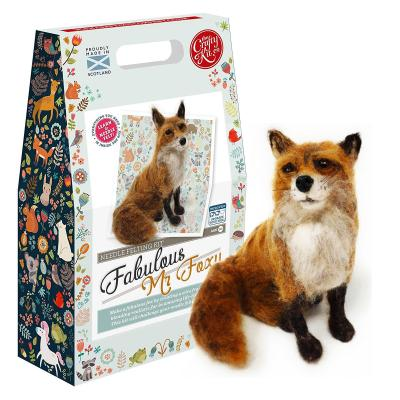 Fabulous Mr Foxy Standing Fox Needlefelting Kit