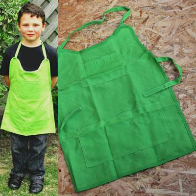 Pack of Ten Childrens Gardening Aprons