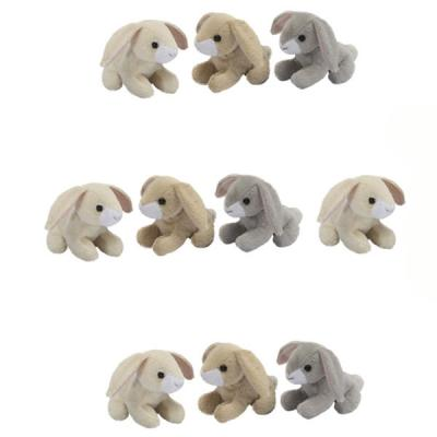 Ten Bunny Rabbit Bean Buddies Mini Soft Toys