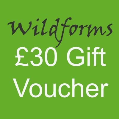 Wildforms Thirty Pounds Gift Voucher