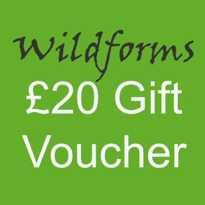 Wildforms Twenty Pounds Gift Voucher