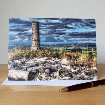 Waterloo Monument Blank Photographic Greetings Card