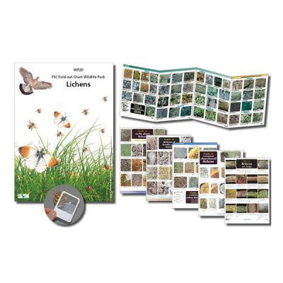 Wildlife Chart Pack Lichens