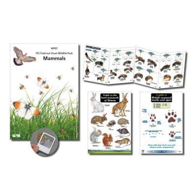 Wildlife chart Pack Mammals