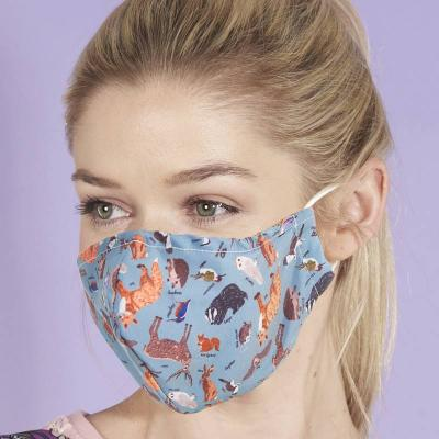 Woodland Animals Reusable Mace Mask Covering