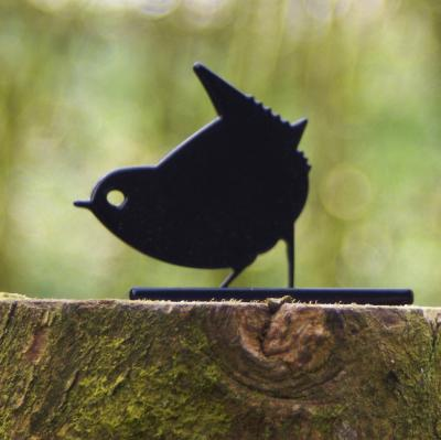 Wren Post Topper Garden Bird Ornament