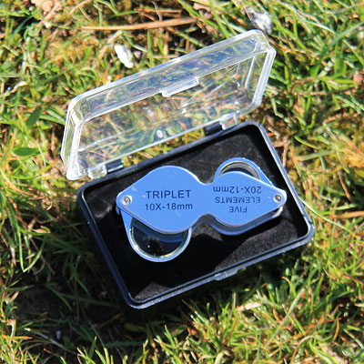 Pocket Loupe Magnifier