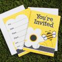 Bee Party Invitations