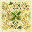 Celtic Knot Blank Christmas Greetings Card