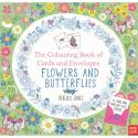 NT Colouring Book Cards and Envelopes Flowers and Butterflies