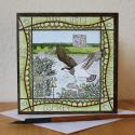 Osprey Threave Blank Greetings Card