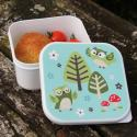 Owl Square Lunch Box
