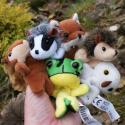 Pack of Six Woodland Animal Finger Puppets
