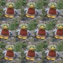 Ten Mini Duck Soft Toys
