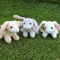 Three Mini Bunny Soft Toys