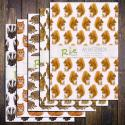 Wild Animals A5 Notebooks Set